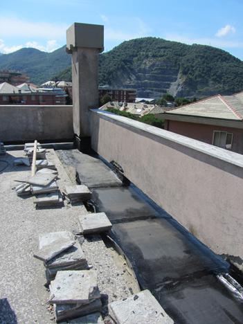 Impermeabilizzazione coperture   EdilJump - lavori in quota Genova
